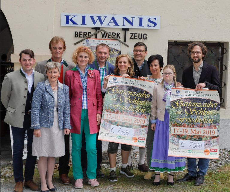 meinbezirk.at:  Kiwanis Gartenzauber – 15.000 Euro für soziale Projekte